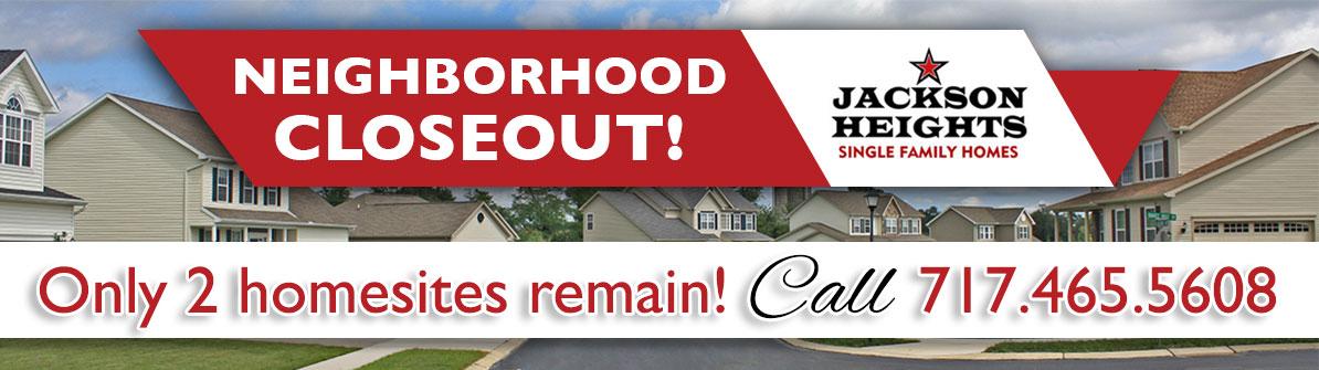 Jackson Heights Singles Neighborhood Web Banner - Closeout