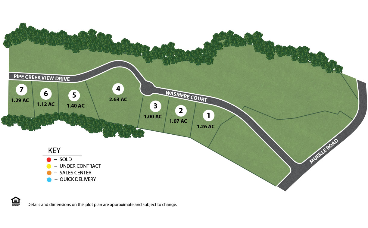 Wasmere Acres Site Plan