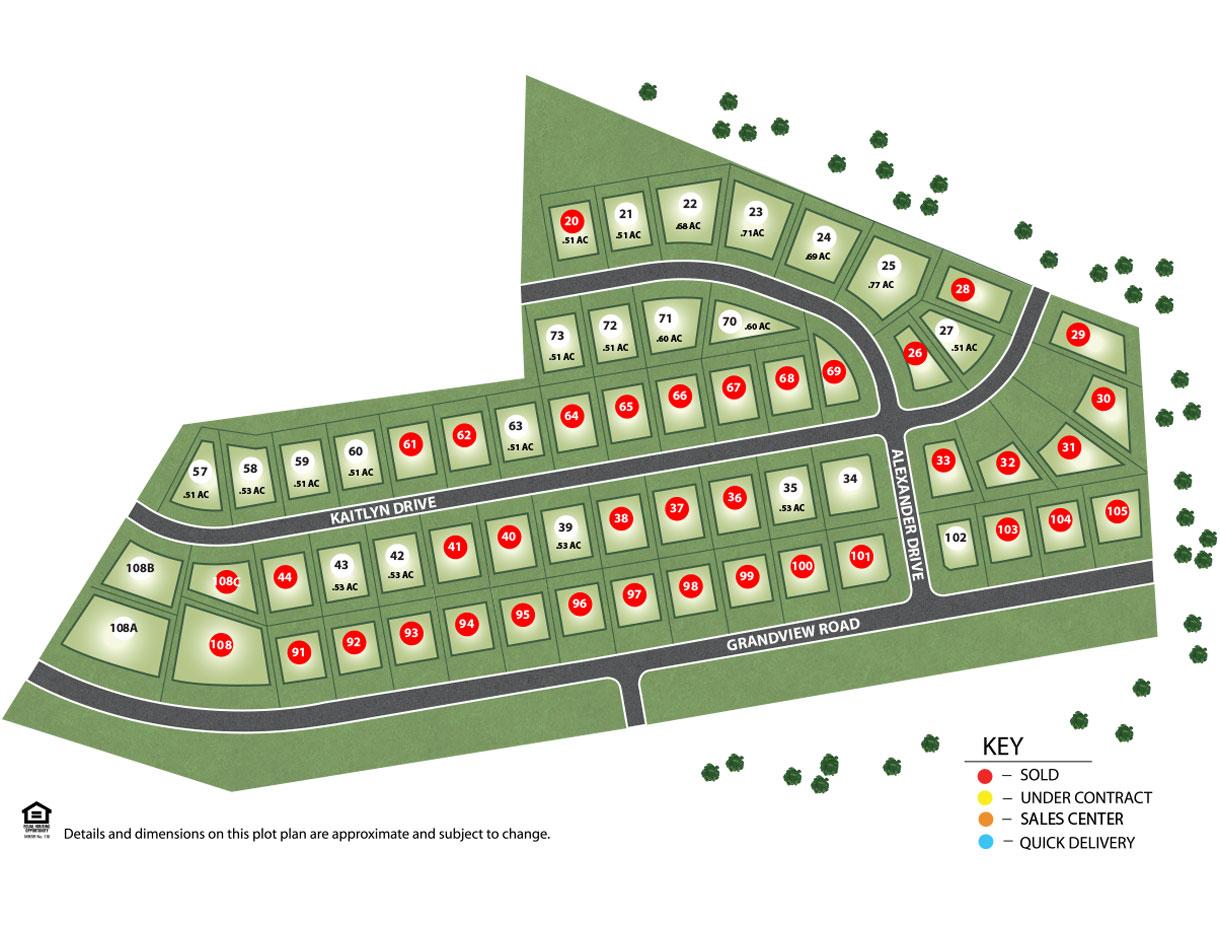 High Pointe North Site Plan