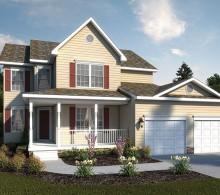 Brandywine Standard Elevation Model Built By J.A. Myers Homes