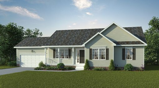 Madison Standard Elevation - J.A. Myers Homes