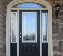 J.A Myers Homes Front Door Upgrade