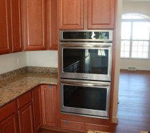 J.A Myers Homes Double Oven Upgrade