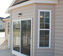 J.A. Myers Homes Sliding Glass Door Option