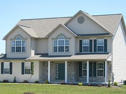 JA Myers Homes Standard Congressional Model Home