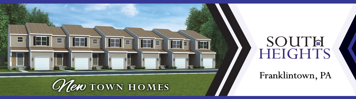 New Townhomes in Franklintown, PA at South Heights