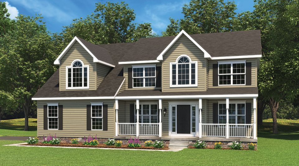 Avenel Model Home Built By J.A. Myers Homes
