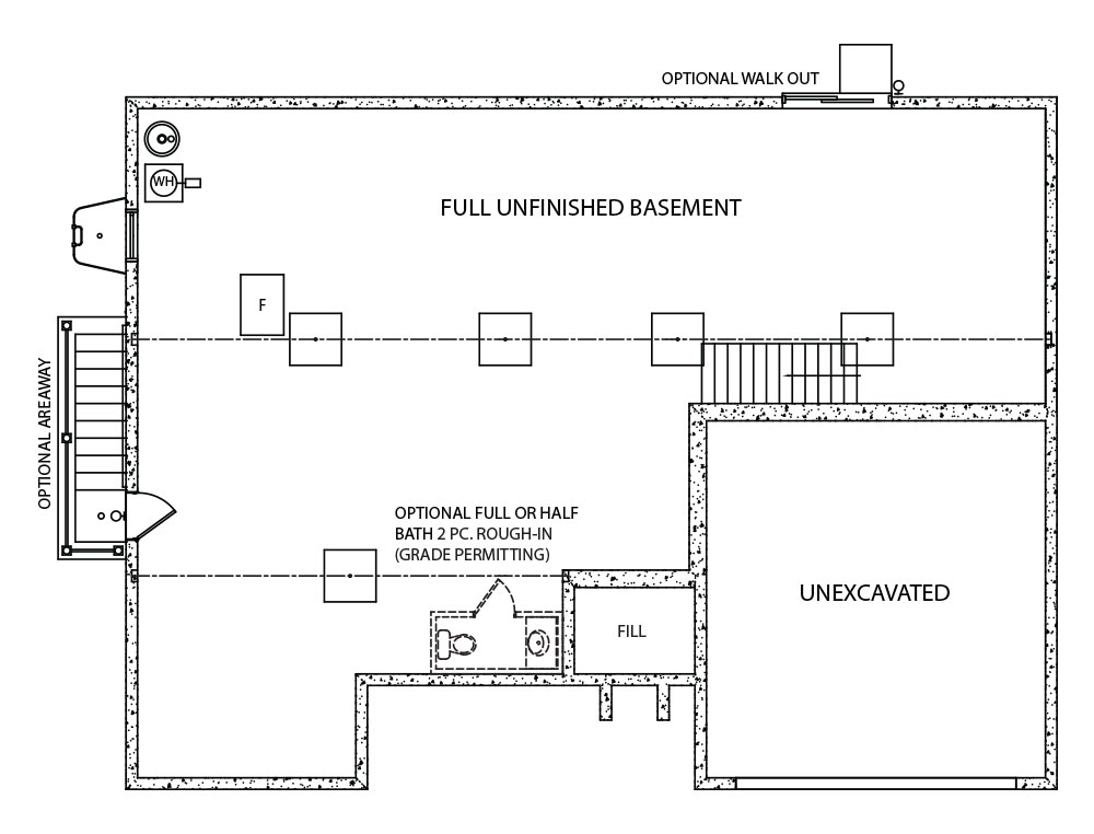 Brookedale Model Floorplan by J.A. Myers Homes in Hanover, PA