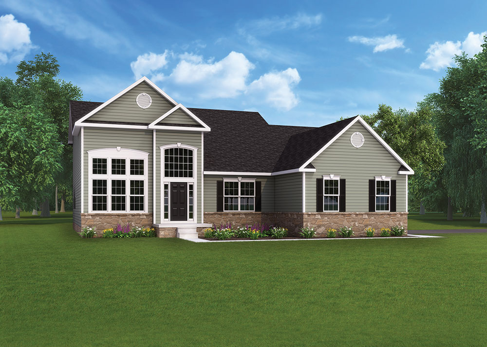 Grantley Model Floorplan by J.A. Myers Homes in Hanover, PA