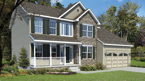 St Andrews Elevation B
