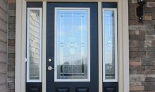J.A Myers Homes Front Door Upgrade