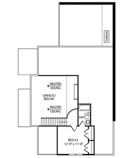 Villa Luxury 2nd Floor Plan