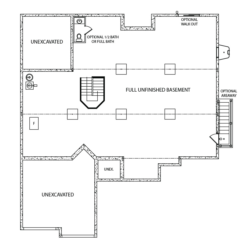 Corinne Foundation Floor Plans