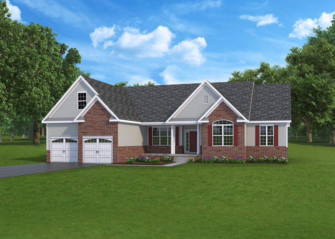 Natalie Model home by J.A. Myers Homes in Hanover, PA