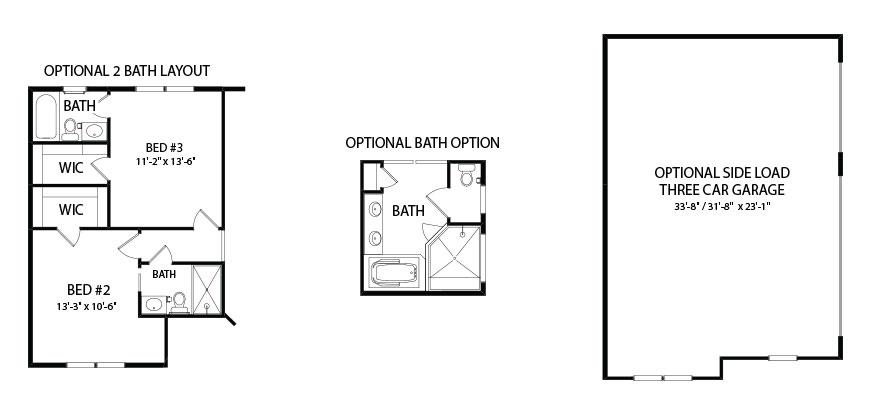 Kaden Model floorplan by J.A. Myers Homes in Hanover, PA