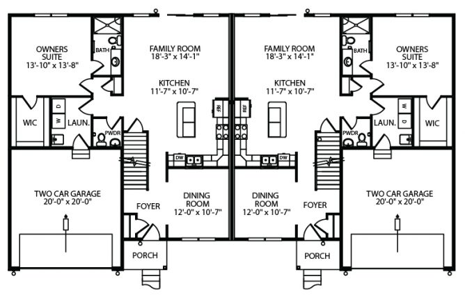 Addison 1st Floor Plan