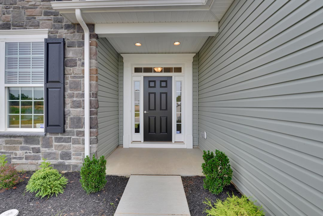 Exterior photos of the 55+ villas at Cherry Tree in Hanover, PA