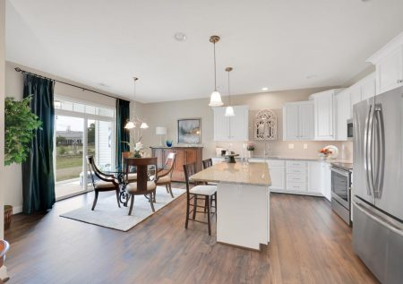 Interior photos of the 55+ villas at Cherry Tree in Hanover, PA