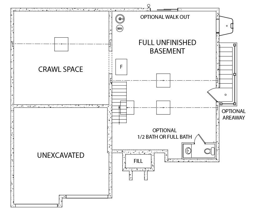 Berkley Model Floorplan home by J.A. Myers Homes in Hanover, PA
