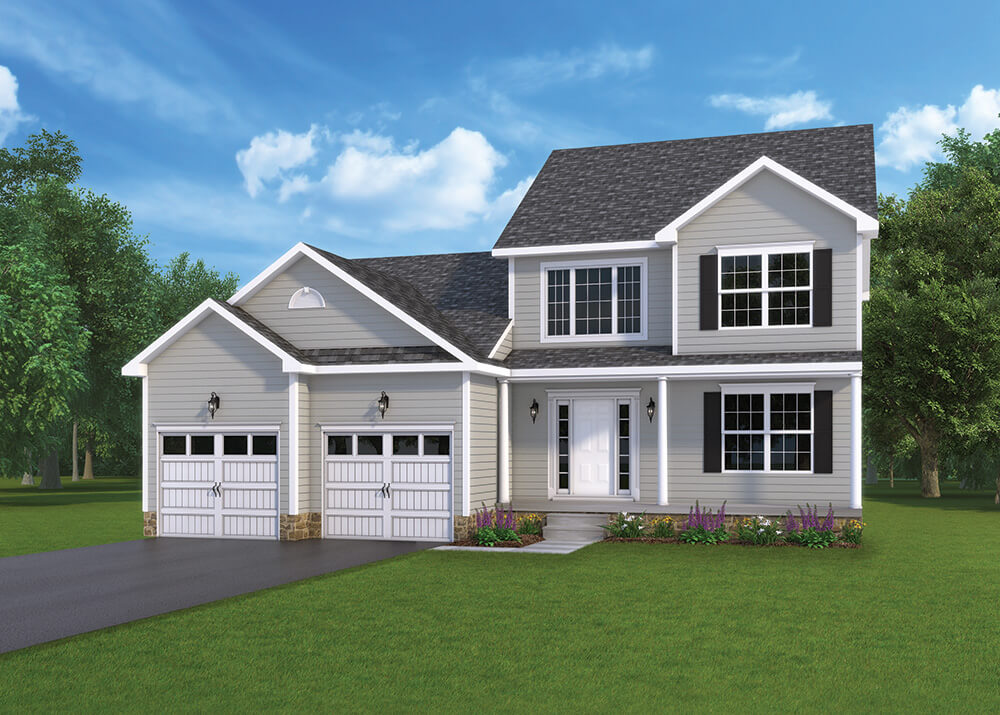 Berkley Option1 Model home by J.A. Myers Homes in Hanover, PA