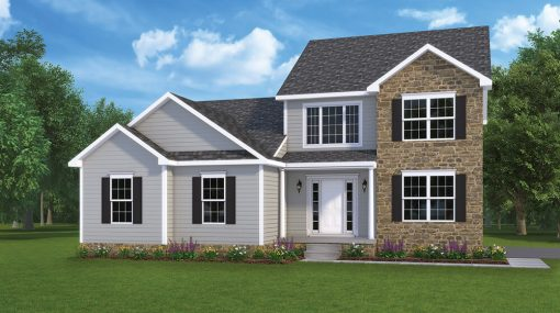 Berkley Option2 Model home by J.A. Myers Homes in Hanover, PA