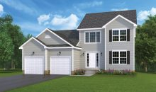 Berkley Standard Model home by J.A. Myers Homes in Hanover, PA