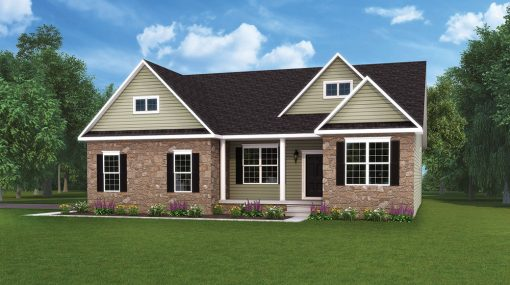 Autumn optional home model by J.A. Myers Homes
