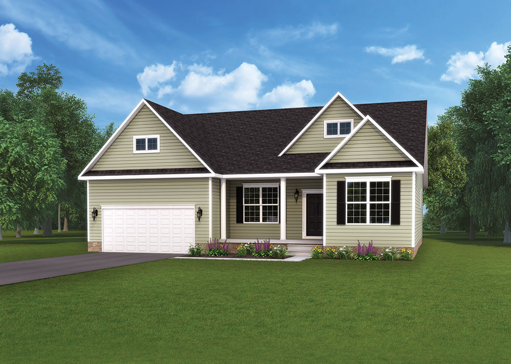 Autumn standard home model by J.A. Myers Homes