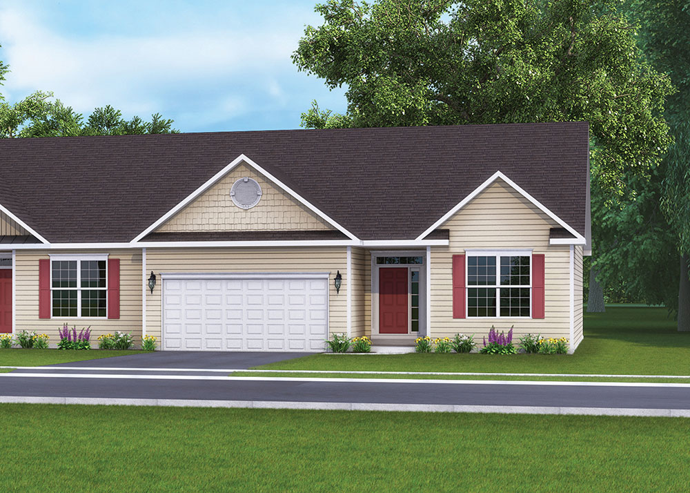 The Villas in Hanover, PA at Cherry Tree built by J.A. Myers Homes