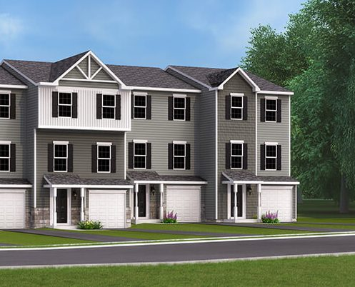 Aberdeen II Townhome in Hanover PA at Homestead Acres by J.A. Myers Homes