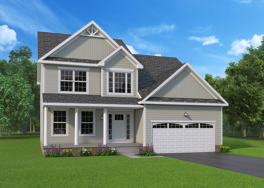 Bentridge Optional Model two-story home by J.A. Myers homes in Hanover, PA