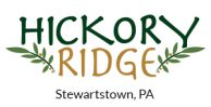 Hickory Ridge Logo for J.A. Myers Homes new home community in souther York County